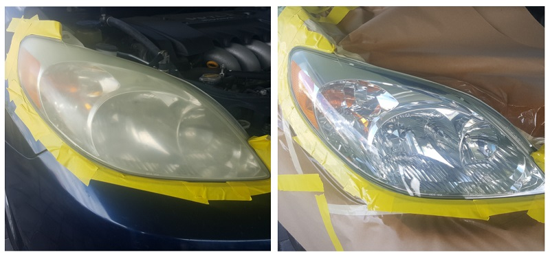 Headlight Restoration West Palm Beach FL